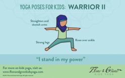 Yoga For Kids: Warrior Two Pose