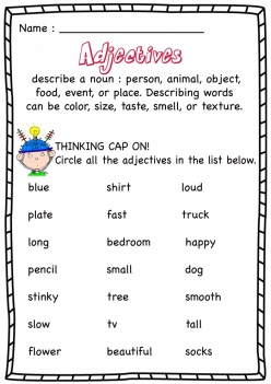 Sight Adjectives