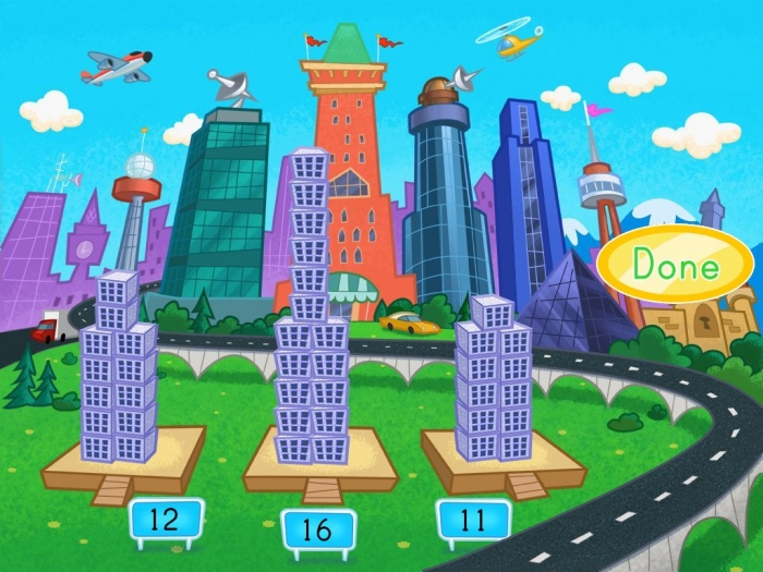 Building Numbers In The City Game
