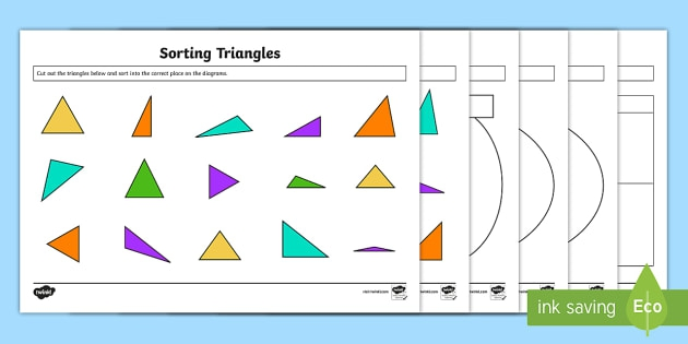 Classifying Triangles Activity Pdf Resource Pack