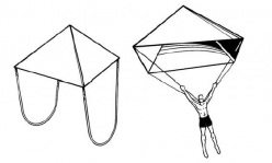 Build A Pyramid Parachute!