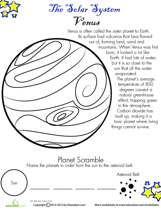 Do You Know The Inner Planets