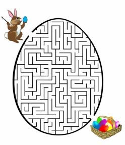 Easter Eggs Maze