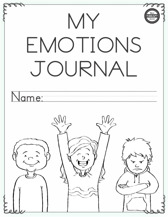 Emotional Regulation Worksheets For Boys And Girls Your Self