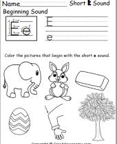 free beginning sounds worksheet 3