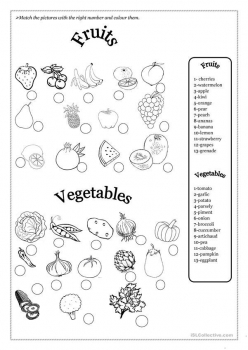 Find The Fruit And Veggies