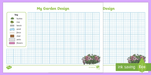 Garden Design Worksheet  Worksheet Teacher Made