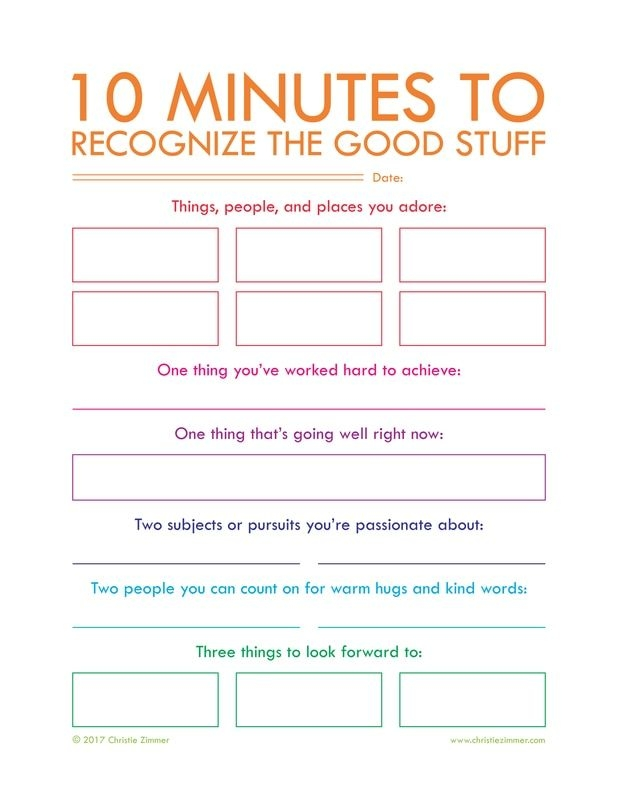 Gratitude Journal Prompt Questions