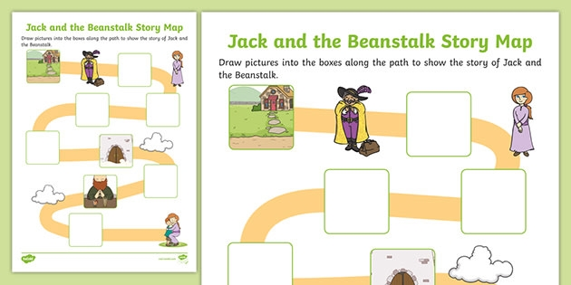 Jack And The Beanstalk Story Map Activity