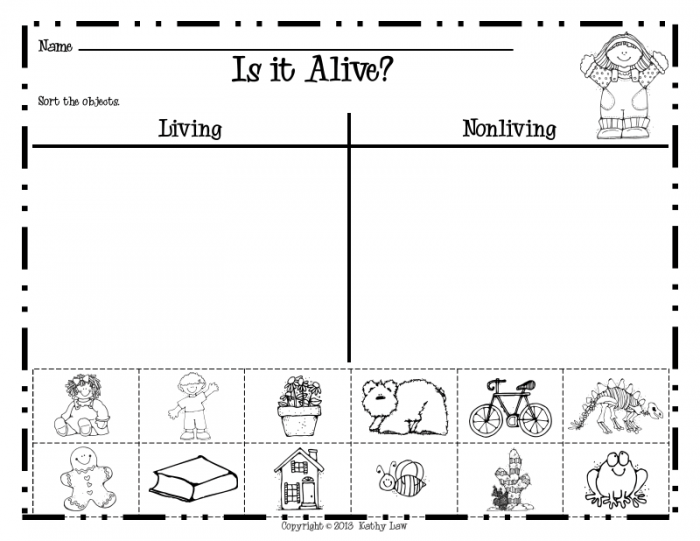 Living Or Nonliving Pdf