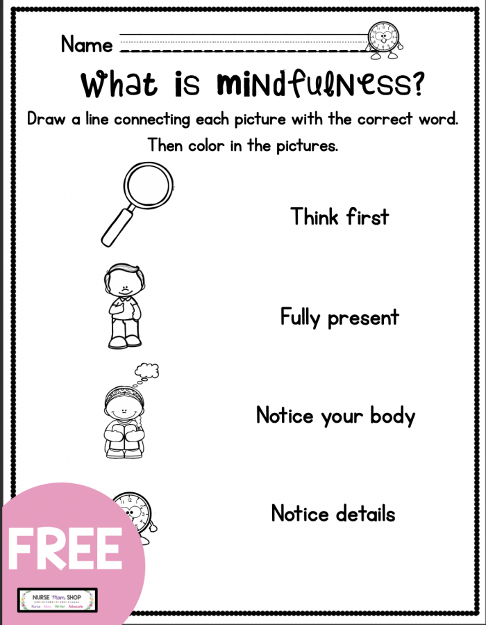 Mindfulness For Kids In