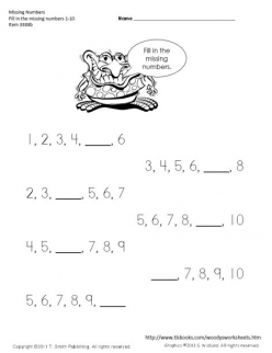 Missing Numbers: 5-10