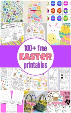 Printable Easter Activities: Easter Eggs