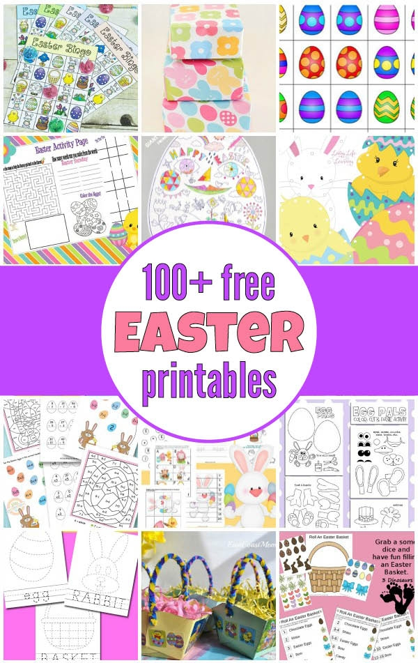 Mostly Free Easter Printables