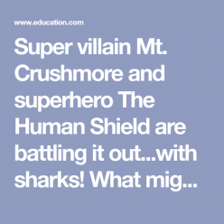 Superhero Showdown: Shark Attack!