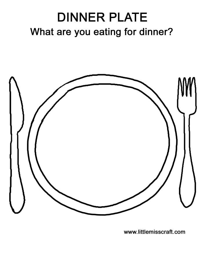 Plates Clipart Dinner Plate