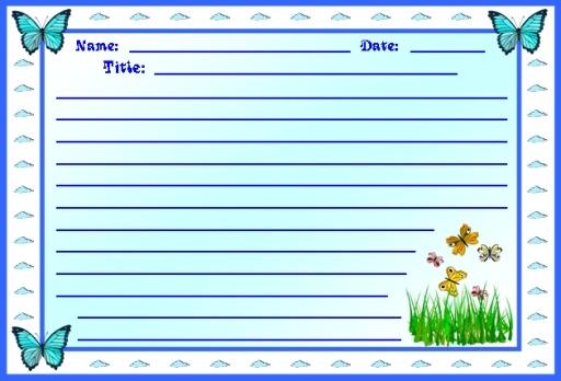 Spring Printable Worksheets Colorful Creative Writing Worksheets