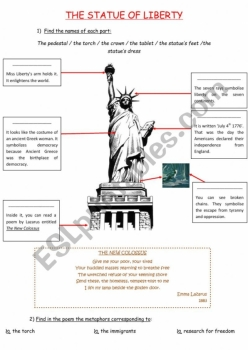 National Symbols: The Statue Of Liberty