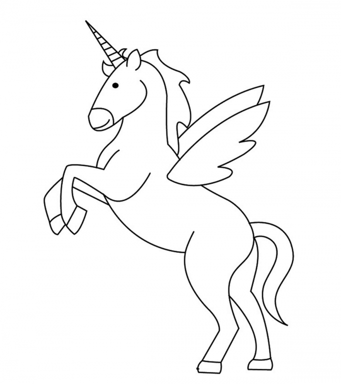 Top  Free Printable Unicorn Coloring Pages