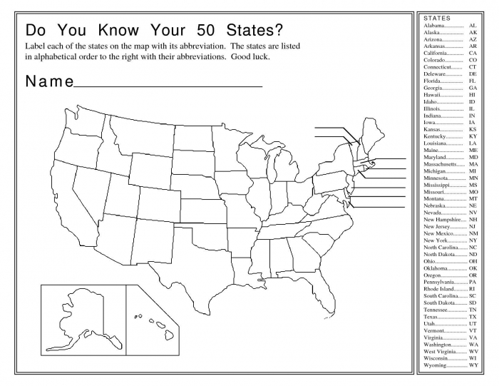 Us State Map Quiz Printable Best  Map Quiz Ideas On