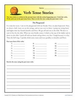 Irregular Verb Story 1