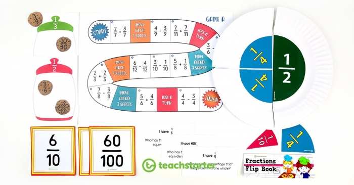 Activities And Resources For Teaching Fractions In The