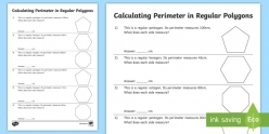 Polygon Perimeter Word Problems