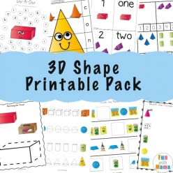 Fun On The Farm: Find The 3-D Shapes