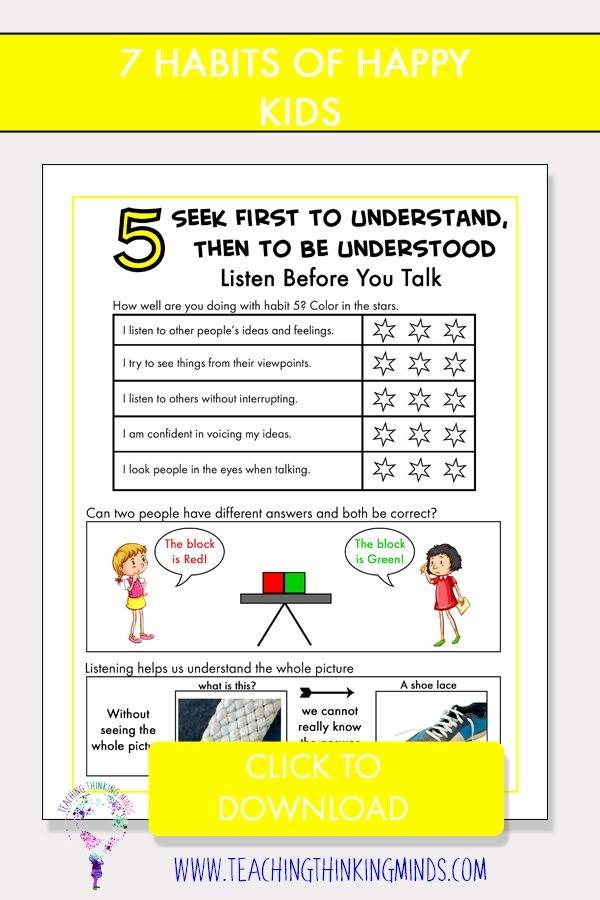 Emotional Intelligence For Kids Book