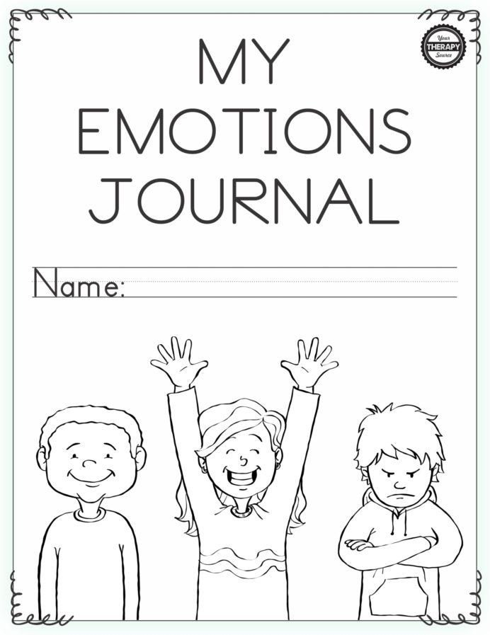Emotional Regulation Worksheets For Boys And Girls Your School