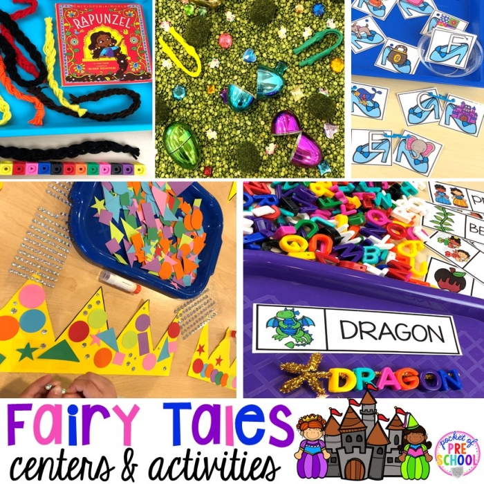 Fairy Tales Activities And Centers