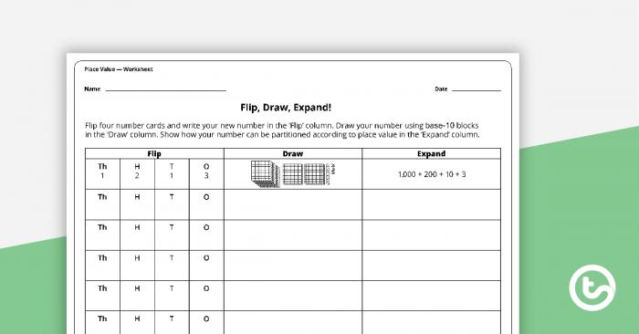 Flip  Draw  Expand