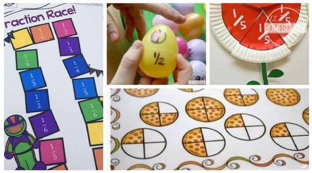 Fraction Activities  Worksheets  And Games