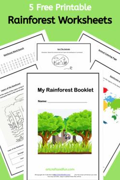 Amazon Rainforest Printable Leaf Template
