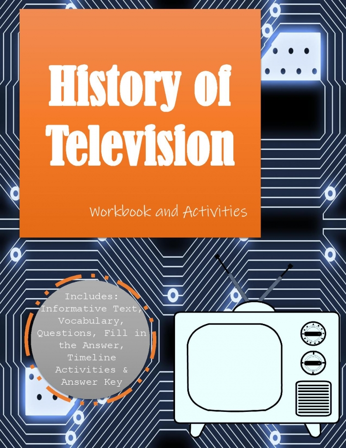 History Of Television Workbook
