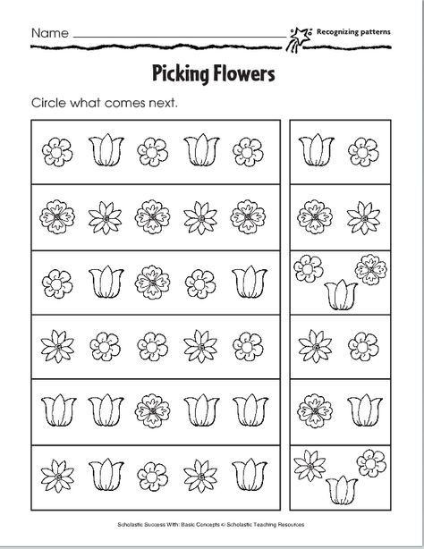 Lesson Six  Pictoral Patterns