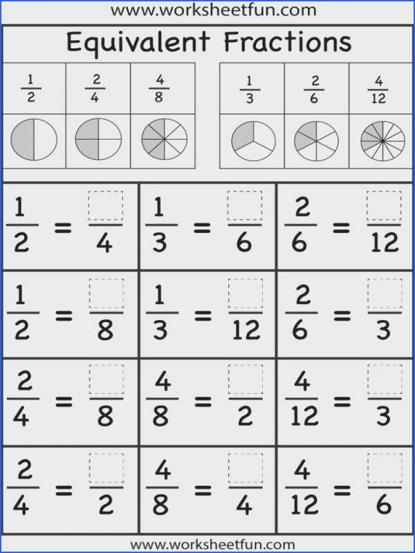 Math Worksheets Fractions Teaching Rd Grade Simplifying Mon Core