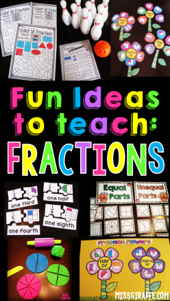 Introducing Fractions: In The Classroom