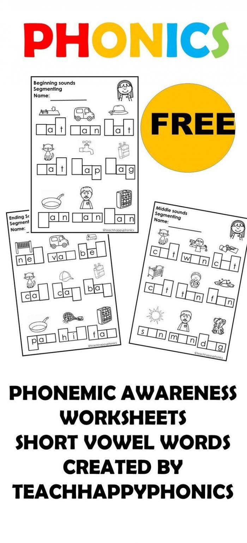 Phonemic Awareness Worksheets In