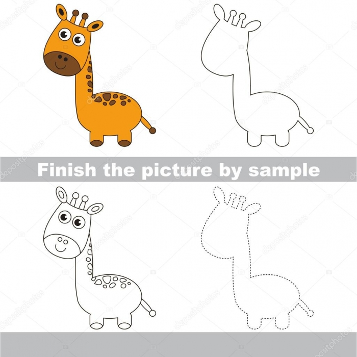 Pictures Giraffe To Draw