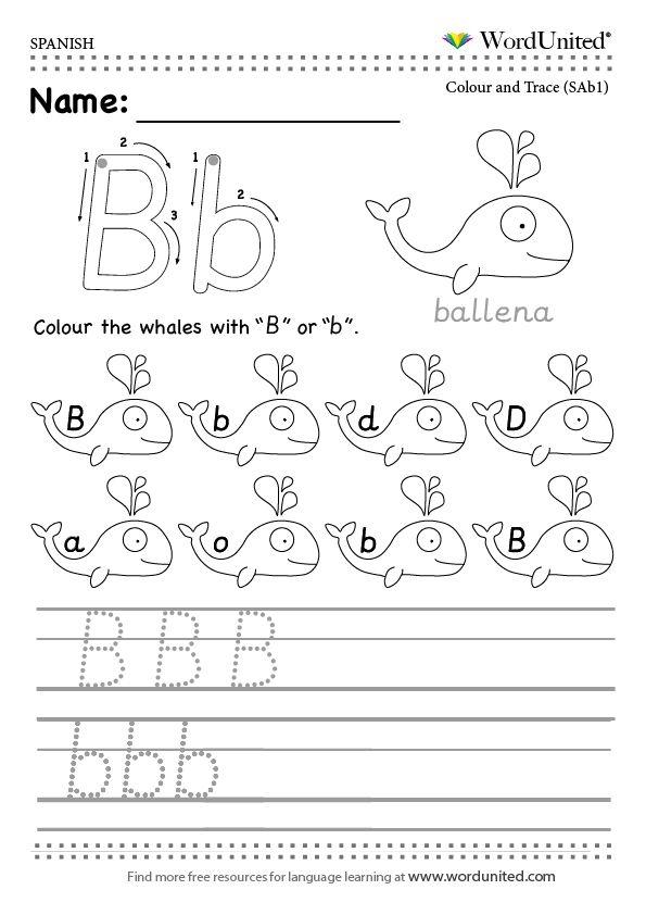 Read And Write The Spanish Alphabet