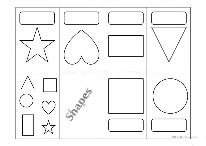 Shapes Minibook