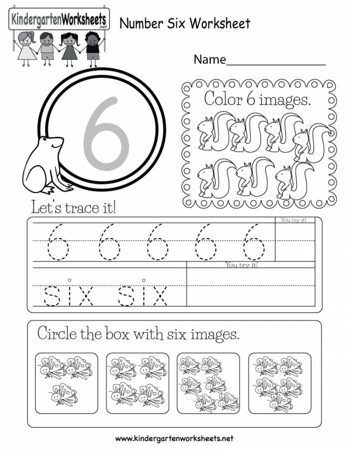 This Is A Number  Worksheet Children Can Trace The Number And