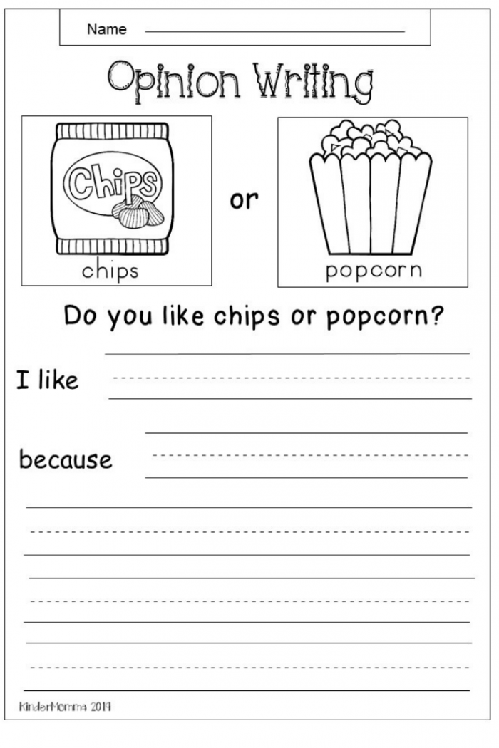 Homework Opinion Writing Worksheets 99Worksheets