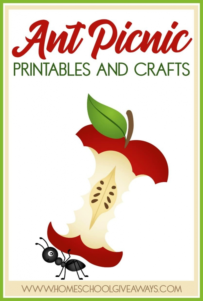 Ant Picnic Printables And Crafts