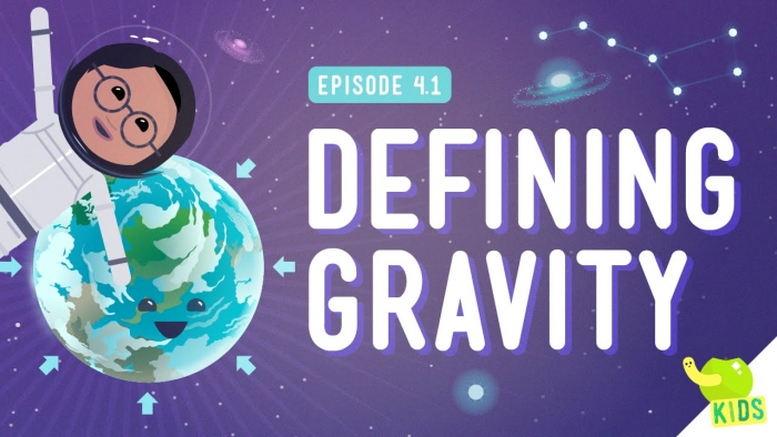 Defining Gravity Crash Course Kids