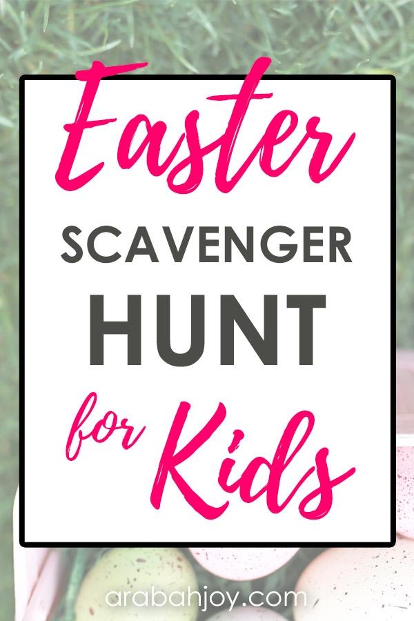 Easter Scavenger Hunt Family Tradition