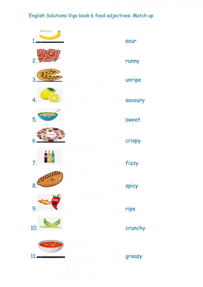 English Solutions Vigo Book  Interactive Worksheet