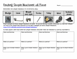 Find The Simple Machines