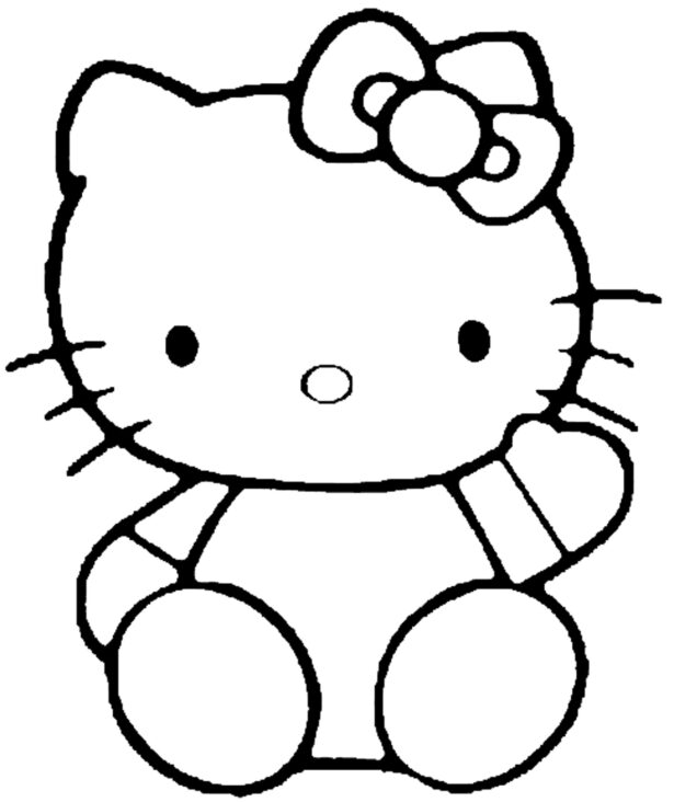 Free Girls Coloring Easy Clip Art On Clipart Library For Year Olds